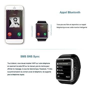 willful sw016 Smart Watch Bluetooth inteligente reloj de pulsera ...