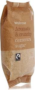 Waitrose Aromatic & Crunchy Demerara Sugar - 500 gm