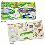 FIND ME™ LAP PAD - AT THE ZOO (5 LBS. 18 X 9 INCHES)