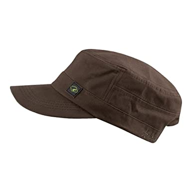 Chillouts Unisex Army Cap El Paso Hat brown: Amazon.es: Ropa y ...