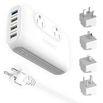 Amazon.com: Rapida Power Converter Step Down 220 a 110 ...