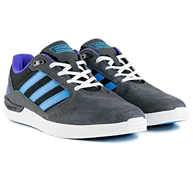 Adidas ZX Vulc  Men Solid Grey/Solar Blue/Night Flash Skateboarding Shoes