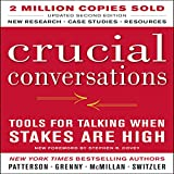 Bargain Audio Book - Crucial Conversations  Tools for Talking