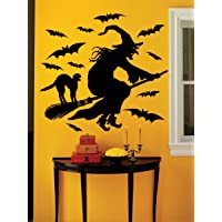 Martha Stewart Crafts Halloween Witch Wall Cling