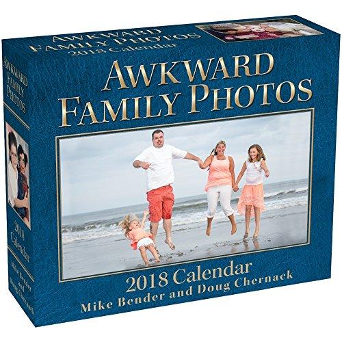 Awkward Family Photos 2018 Day-to-Day Calendar cover