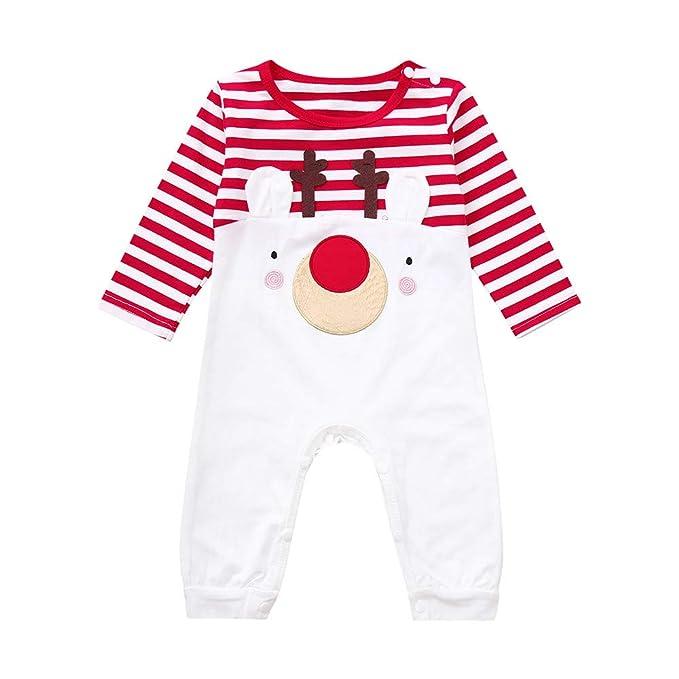 Conjuntos para Unisex Bebés Niñas Niños Peleles Bodies Otoño Invierno 2018 Moda PAOLIAN Monos Navidad Fiestas