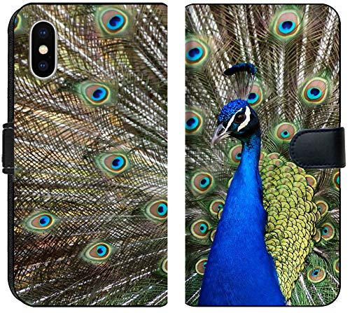 - Apple iPhone Xs MAX Flip Fabric Wallet Case Image ID: 3959683 This Fellow was a reall Show Off Very Colourful Peacock