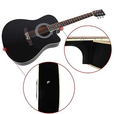 NUYI-4 Guitarra acústica de Esquina Negra de 41 Pulgadas con Ventas directas genuinas