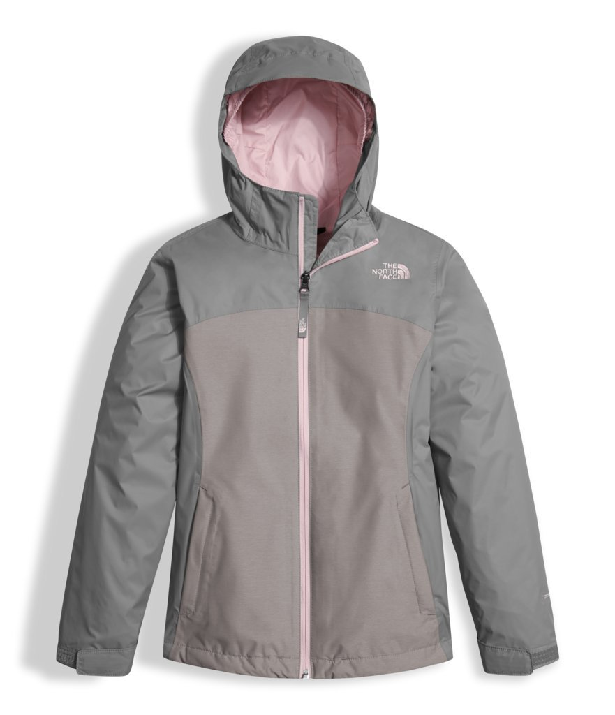 The North Face Girls Osolita Triclimate Jacket - Metallic Silver - L by The North Face