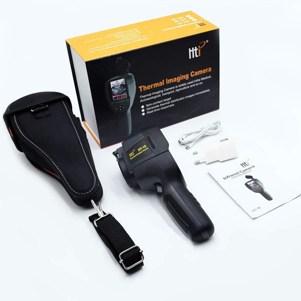 HT-02D Akozon Infrarot W/ärmebildkamera HT-02D IR-Aufl/ösung 1024 Pixel 0,3 Millionen Pixel Testgenauigkeit 20 bis 300/°C Frequenz Bilderfassung 6HZ Portable Infrarot Thermal Bildgebungsger/ät
