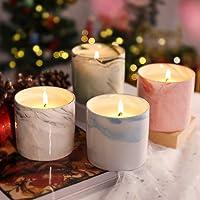 LANGRIA Set de velas perfumadas en taza