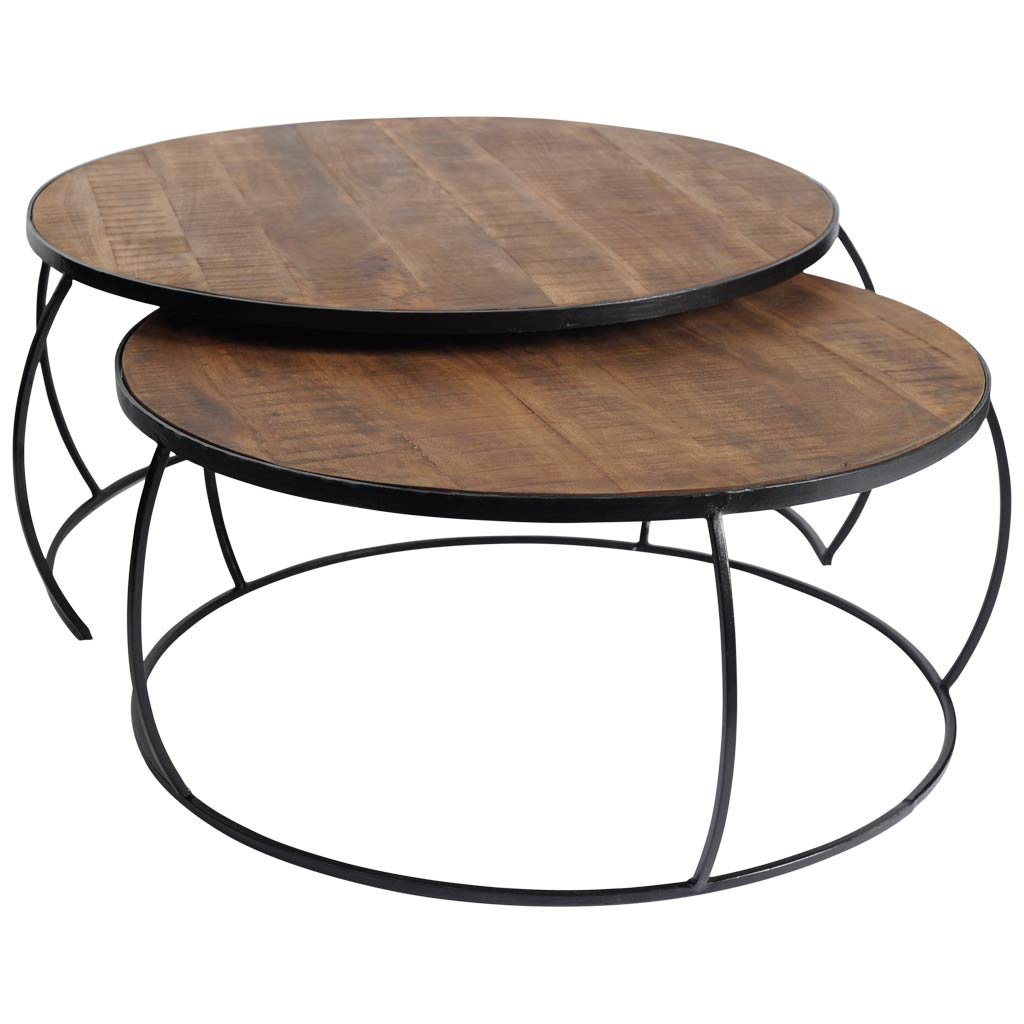 Mercana Art Décor Clapp I Coffee and End Tables Brown