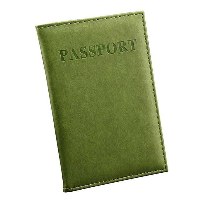Amazon.com: Sanwood funda para pasaporte, de imitació ...