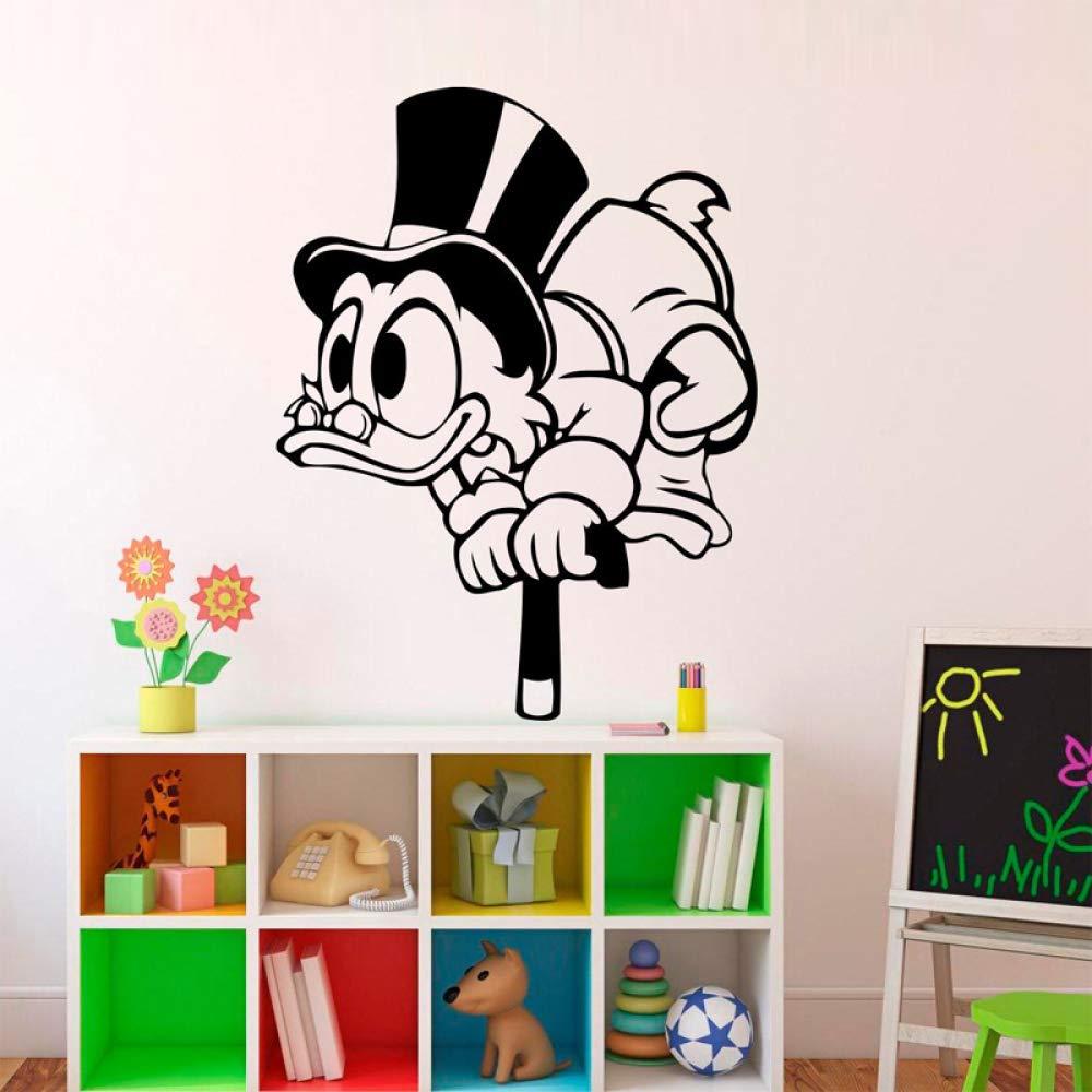Dibujos Animados de Pato muleta extraíble Pegatinas de Pared para ...