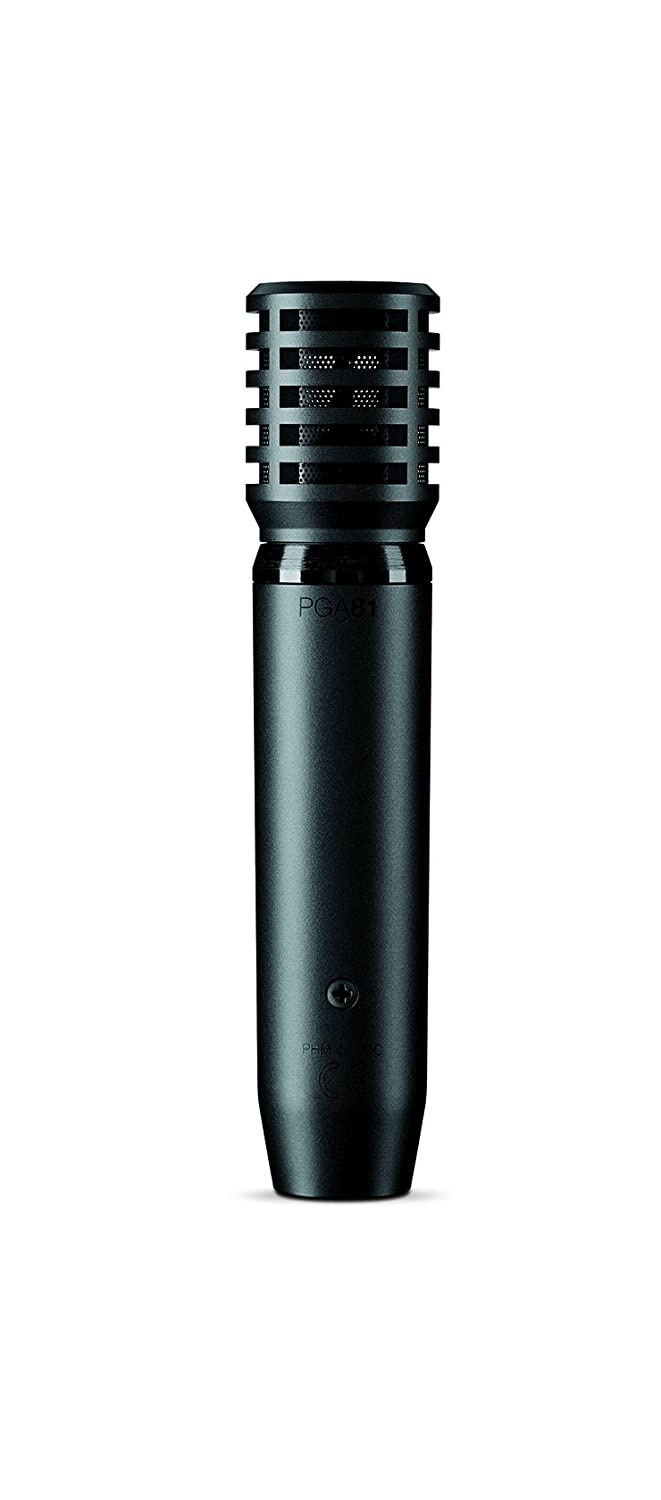 Shure PGA81-LC Cardioid Condenser Instrument Microphone with No Cable Shure Incorporated