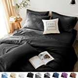 LBRO2M Bed Sheets Set Queen Size 6 Piece 16 Inches Deep Pocket 1800 Thread Count 100% Microfiber Sheet,Bedding Super Soft Hyp