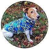Dog Raincoat Pattern Waterproof Lightweight Custom made Dog Coat Jacket Reflective Rain Jacket with Hood for Small Medium Large Dogs by DoggyBanda