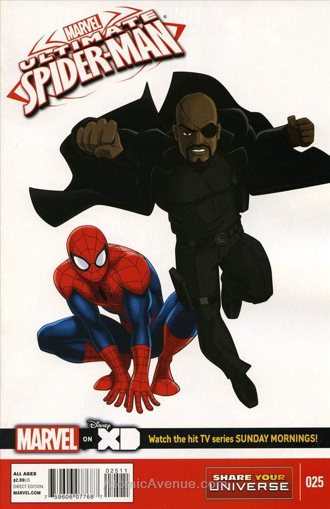 Amazon.com: Marvel Universe Ultimate Spider-Man #25 VF/NM ...