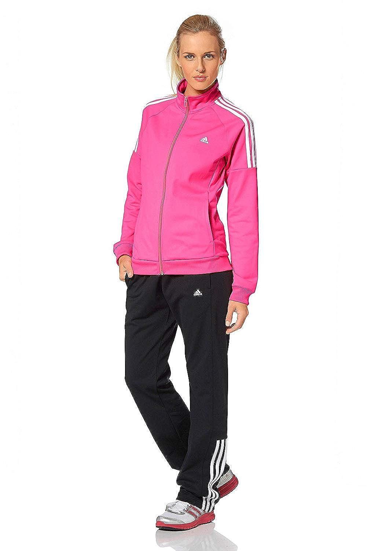 adidas Performance Regular – Chándal para mujer rosa claro S ...