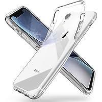 Spigen Coque pour iPhone XR [Liquid Crystal] [Transparente Souple Flexible] Coque Résistante, Anti Rayure, Compatible avec Rechargement sans Fil, Coque Etui Housse pour iPhone XR (2018) (064CS24866)