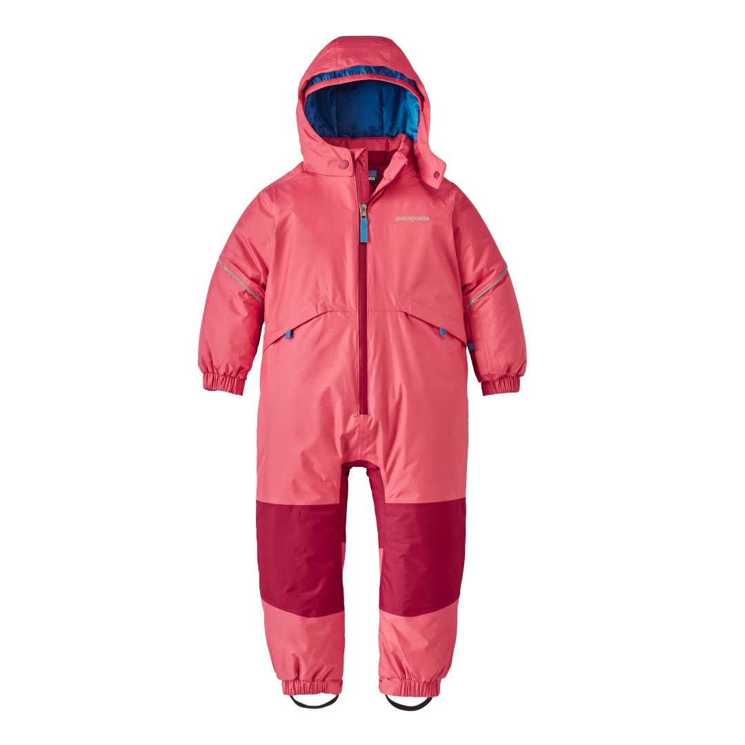 Patagonia Snow Pile One-Piece Baby Indy Pink Unisex Baby 6-12m