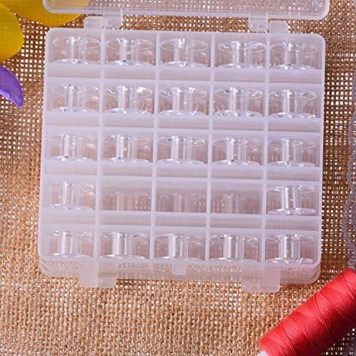 25 Rejillas para Costura Máquina Organized Canilla Caja Almacenaje con