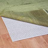 Grip-It Extra Cushioned Non-Slip Rug Pad for Rugs on Hard Surface Floors, 10 by 14-Feet