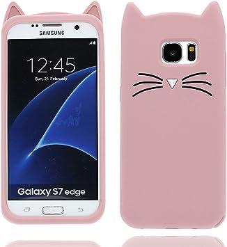 Samsung Galaxy S7 Edge Carcasa, diseño de patrón suave / de TPU ...