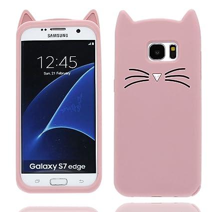 Samsung Galaxy S7 Edge Carcasa, diseño de patrón suave / de ...