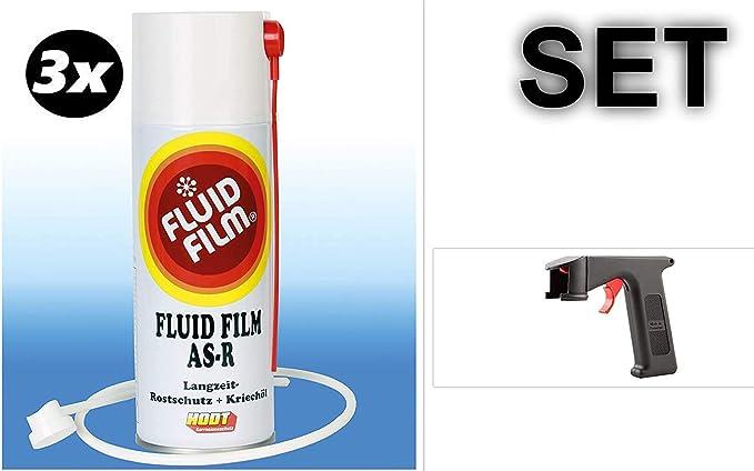 Set 3x Fluid Film As R 400 Ml Sprühdose Spraymaster Baumarkt