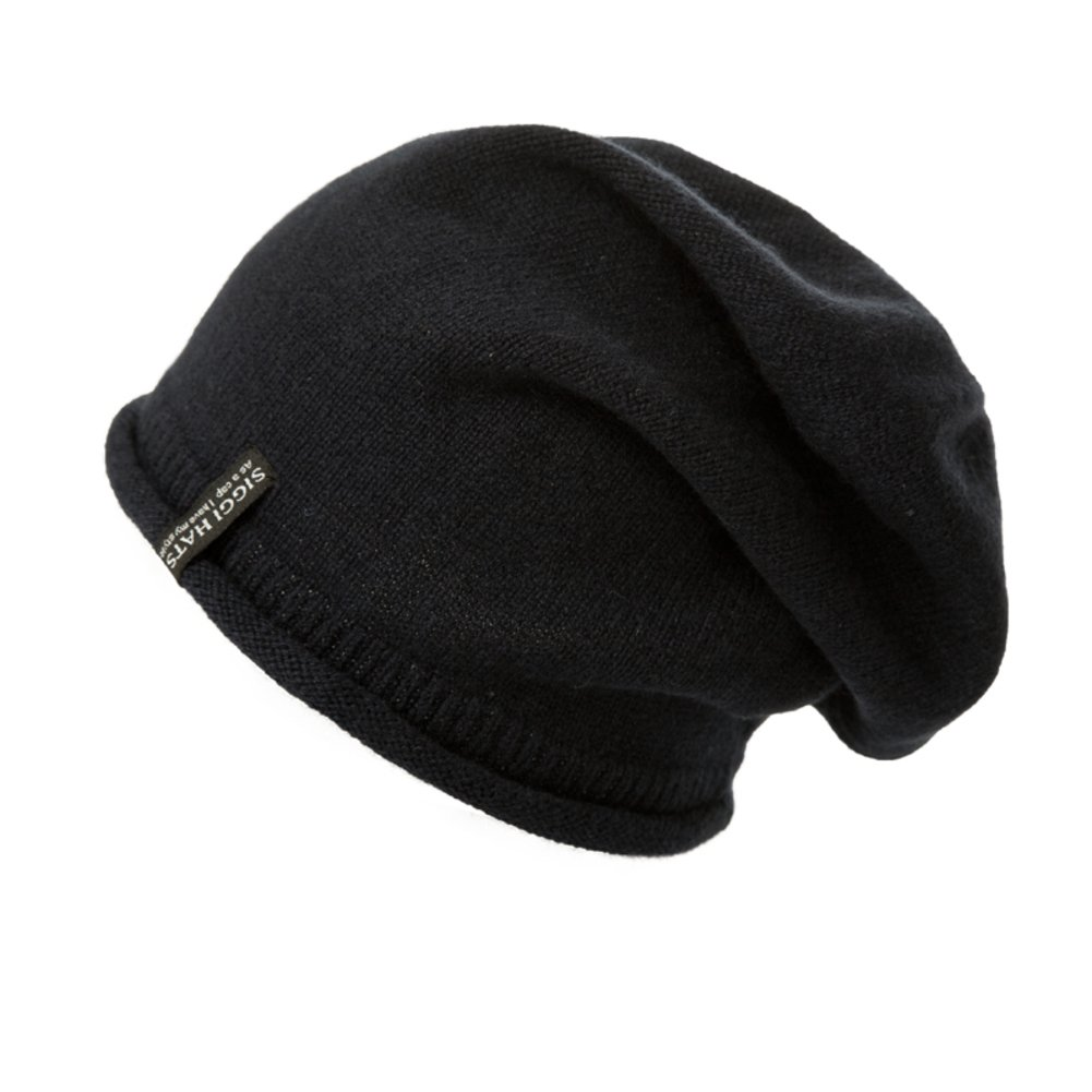 Mens hat Winter Cashmere Wool Cap Fashion Knitted Hat Warm-Keeping hat Ear Muffs Head Cap