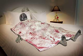 Forum Novelties 70616 Bloody Death Bed Zombie, Multicolor
