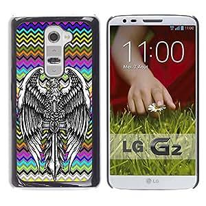 Dragon Case - FOR LG G2 - Love is so short - Caja protectora de pl??stico duro de la cubierta Dise?¡Ào Slim Fit