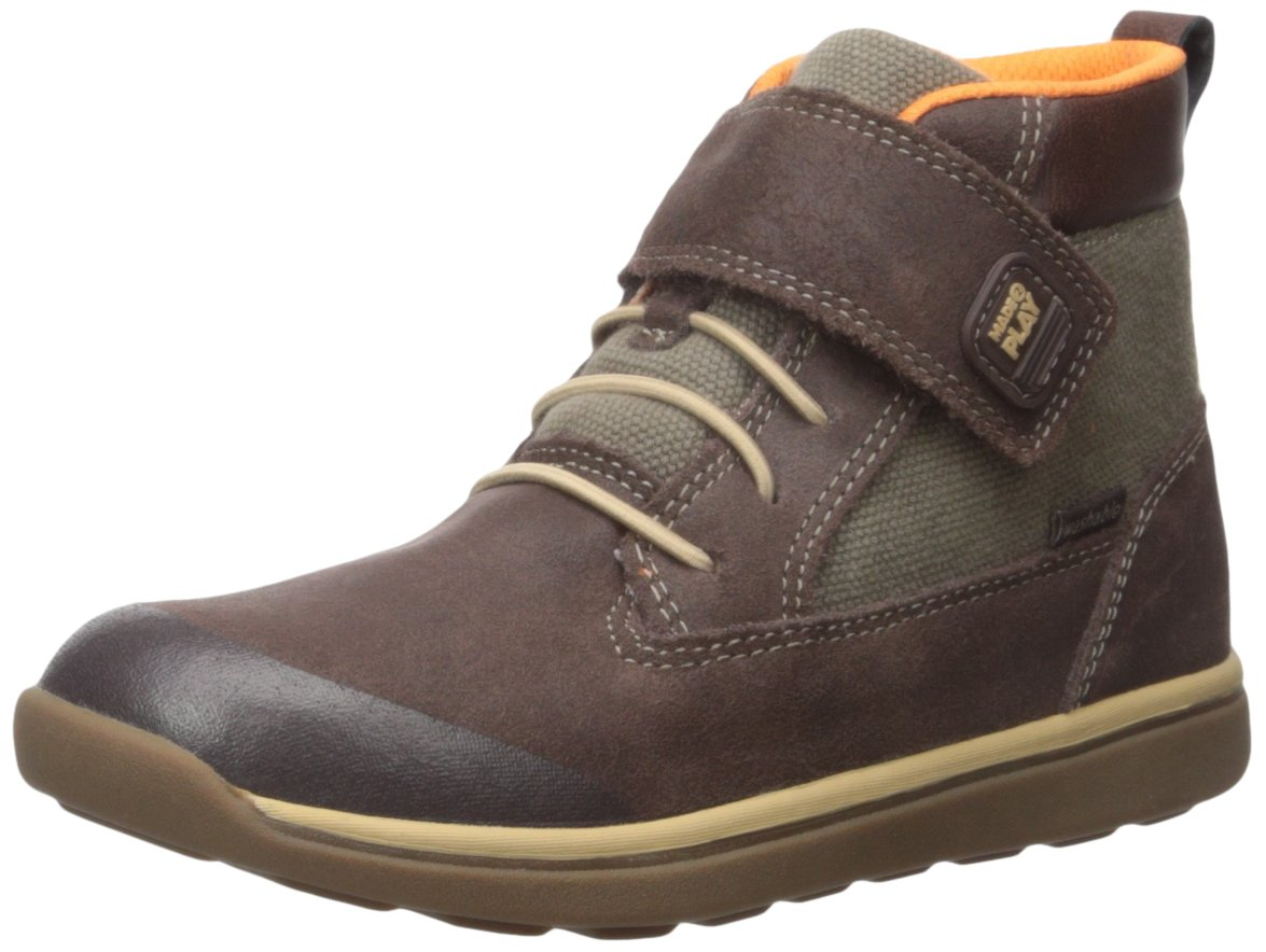 Stride Rite Made 2 Play Barclay Boot (Little Kid), Brown, 11.5 M US Little Kid