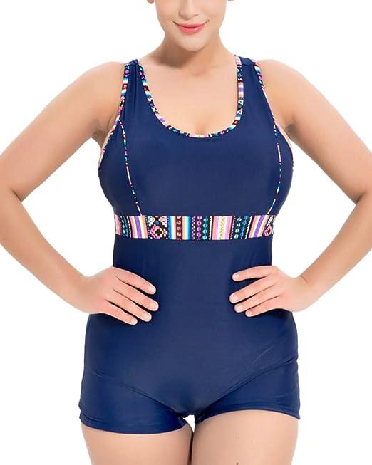 Donna Casual Sportivo Bikini Costumi Da Bagno Interi Contenitivi ...
