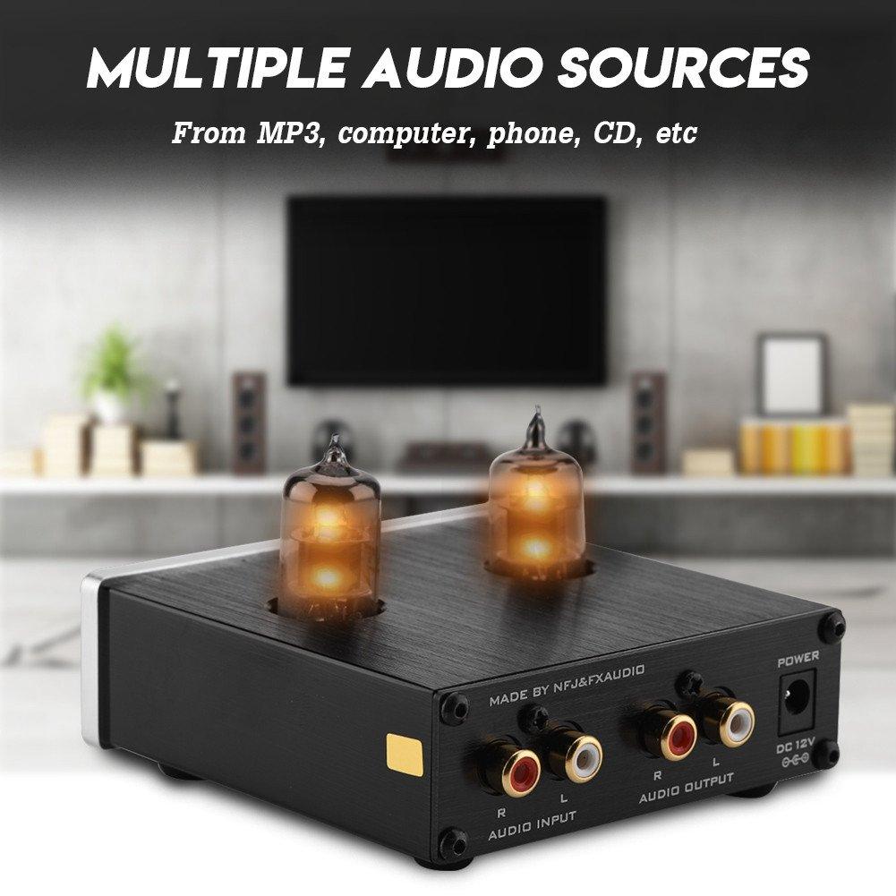Zerone HiFi preamplificador estéreo Tubos Digital Audio ...