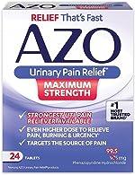 AZO Urinary Pain Relief Maximum Strength | Fast relief of UTI