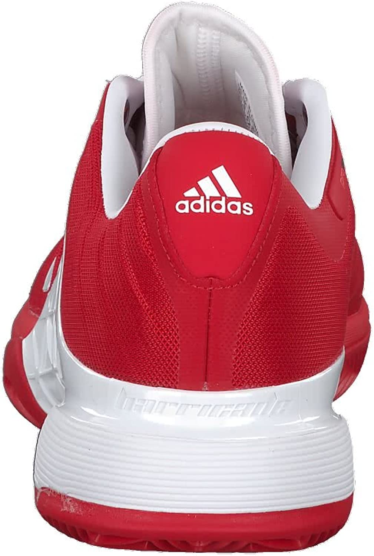 adidas Herren Barricade 2018 Clay Tennisschuhe rot 41 1//3 EU