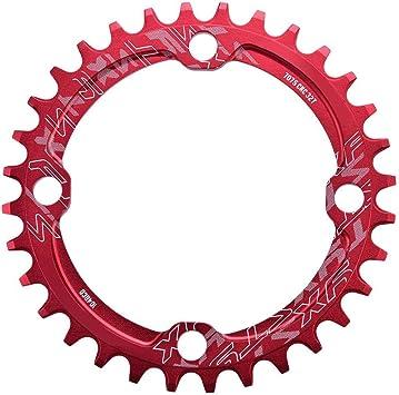 Keenso Plato de Bicicleta, Monoplato Bicicleta de Montaña 32/34 ...