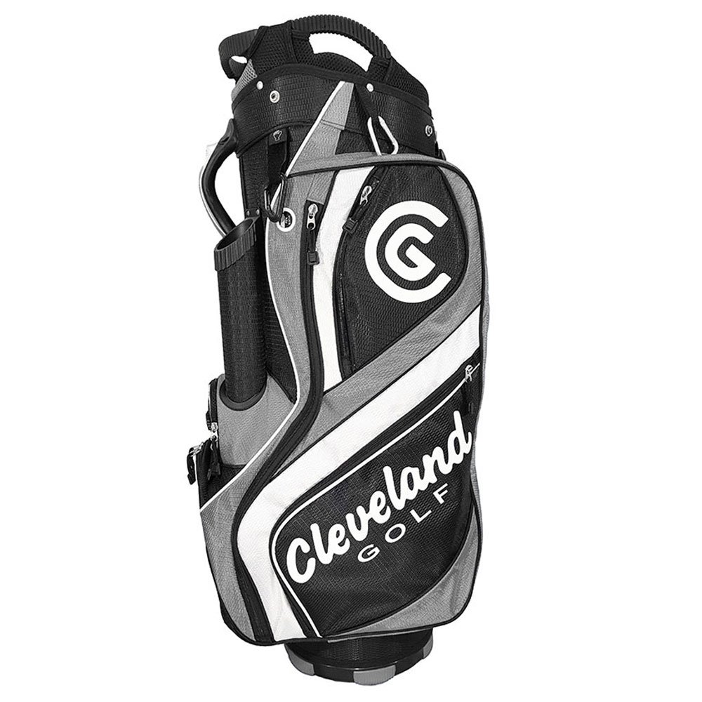Cleveland Golf Male Cg Cart Bag, Black/Charcoal/White by Cleveland Golf (Image #1)