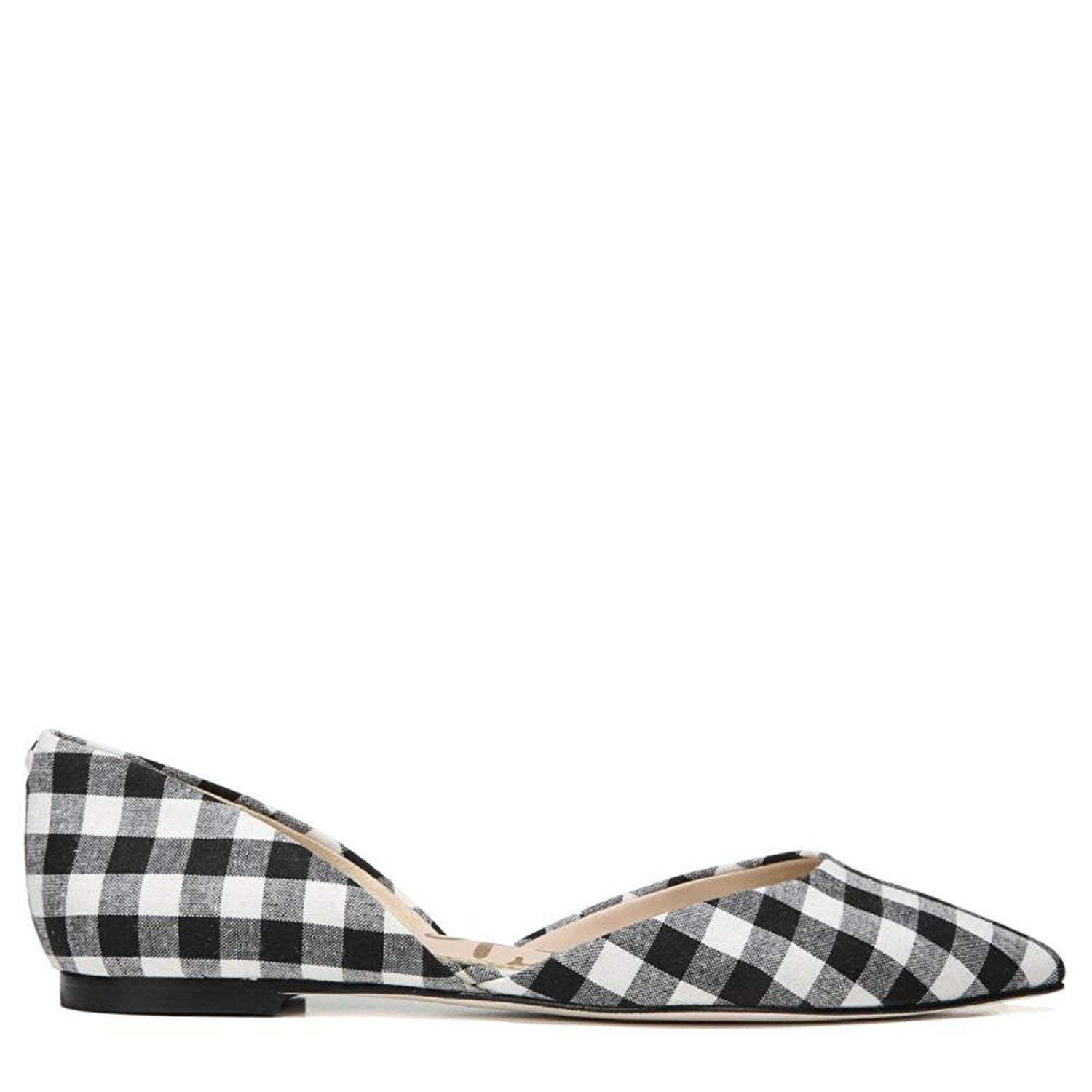 Black White Large Gingham Weave Sam Edelman Women's