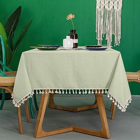 H&RB-tablecloth Poliéster Pequeño Mantel, Mesa Rectangular ...