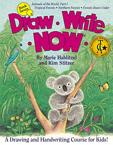 Draw Write Now Book 7: Animals of the World Part 1: Forest Animals