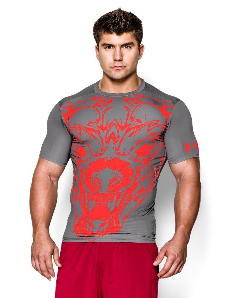 Under Armour Herren Fitness - T-Shirt und Tank Beast Comp Short Sleeve Wolf