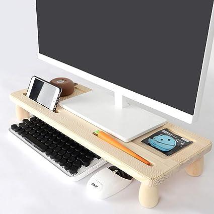 Soporte de monitor Elevador de monitor Bandeja para portátil ...