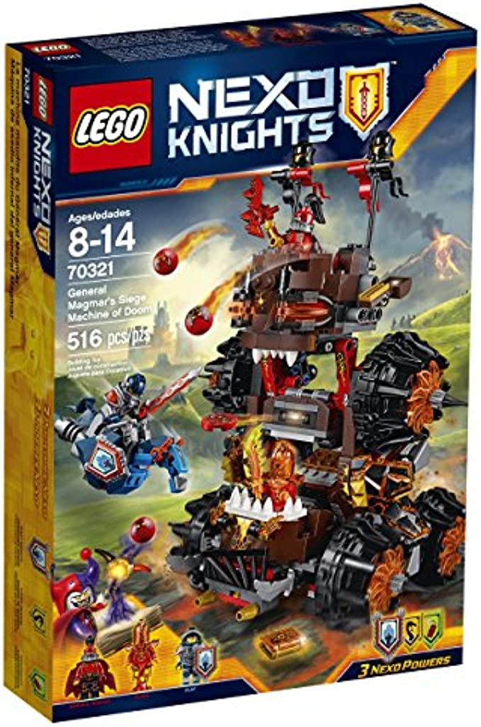 LEGO NexoKnights 70321 General Magmar's Siege Machine of Doom