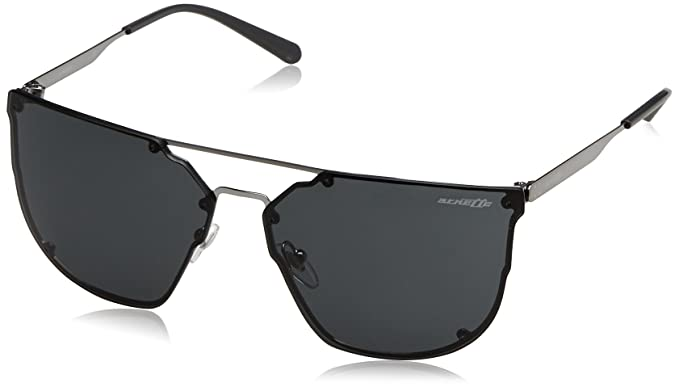 Arnette Hundo-P1, Gafas de Sol para Hombre, Gunmetal, 63