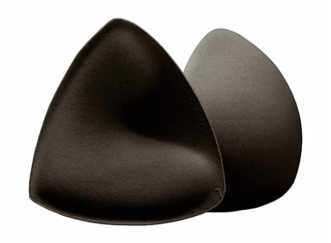 6023816a71 Bravo Women s Triangle Ultra Shaper Bra Pads. Pushes both up and in. (Black