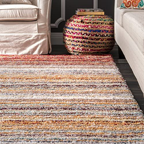 nuLOOM Classie Hand Tufted Shag Area Rug
