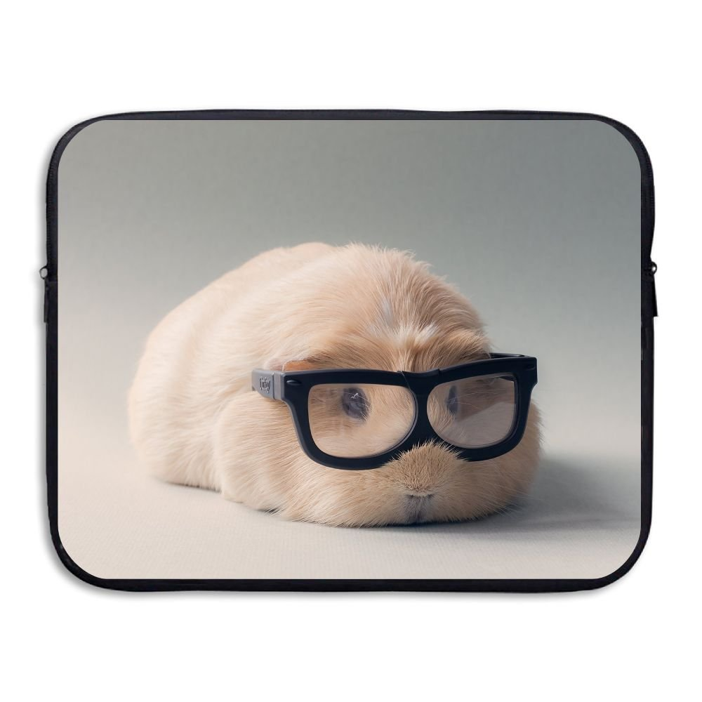 Jingclor Business Briefcase Sleeve Guinea Pig With Glasses Laptop Sleeve Case Cover Handbag For 13 Inch Macbook Pro/Macbook Air/Asus/Dell/Lenovo/Hp/Samsung/Sony/Women & Men